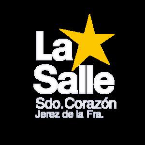 Logotipo La Salle RS JerezSC blanco