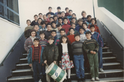 Clase 5º de EGB curso 1993-94