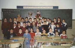 Clase con los Reyes Magos curso 1996-97