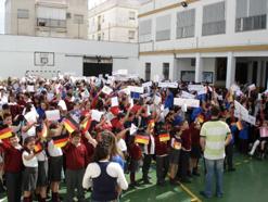 Celebración día de Europa curso 2007-08
