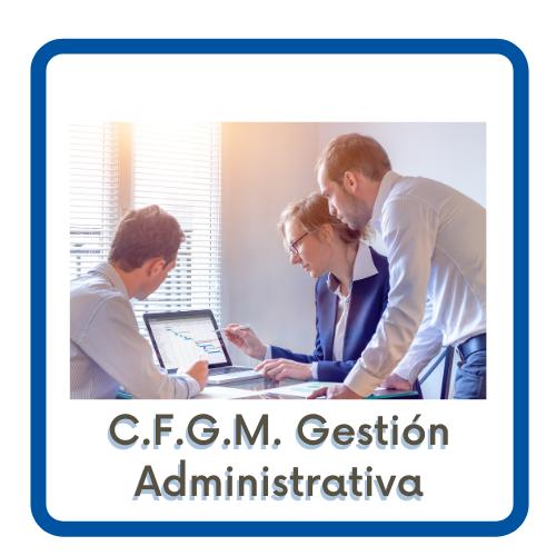 Acceso a la página del CFGM Gestión Administrativa