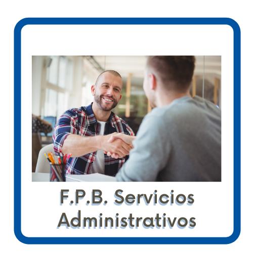 Acceso a la página de FPB Servicios Administrativos
