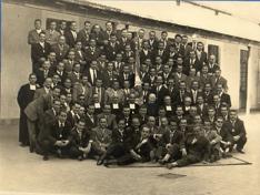 Comunidad de Hnos. con padres del colegio 1957